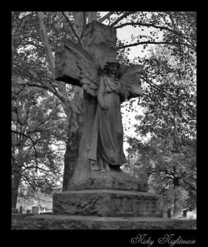 Cemetery Angel by NickyNightmare