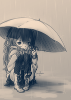 Rain Rain Go Away by whispwill