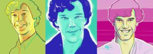 Sherlock is amused by vimessy