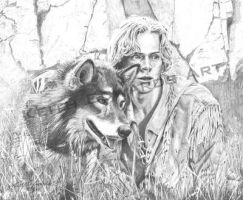 White Fang by KeithEdwardsWestern