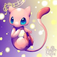 Mew use Sing by Pand-ASS