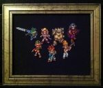Chrono Trigger Cross Stitch by Ngarner2