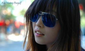 Stranger In Blue Shades by SniperOfSiberia