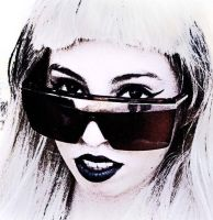 Me as Lady Gaga - Shades by ssGoshin4