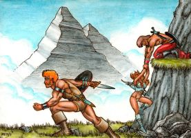1978 Ancient Warriors by Frohickey