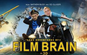 Film Brain as Tin Tin (parody) by DAScottJr