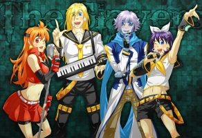 Slayers - vocaloid cosplay by piku-chan