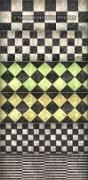 6 Tileable Checkered Textures by MuzikizumWeb