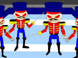 Big Jet's Evil Toy Soldiers by Gamekirby