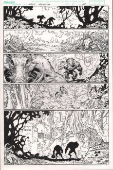 The Incredible Hulk - Issue 1 Page 20 INKS by MichaelBroussard