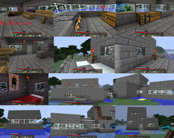 My Second Minecraft home by Maivory