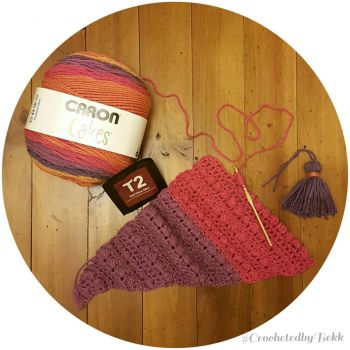 Caron cake surprise  by CrochetedbyBekk