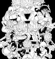 BAW: super warriors Z by DrabounZ
