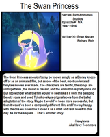1001 Animations: The Swan Princess by Hewylewis