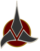 Emblem of the Klingon Empire by bagera3005