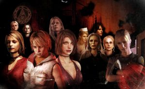 women of silent hill by AbstracktBlack