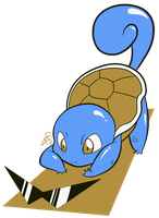 007 - Squirtle by the-Mad-Hatress