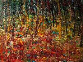 whisper of autumn,  shouting of smell by lauraverde