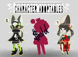 Character Adoptables (CLOSED) by IncoMpleTeSTAR