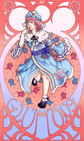 The Seven Sinners of Gensokyo - Gluttony by Strawberry-Itchiko