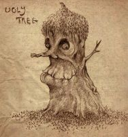 The Ugly Tree by Papposilenos