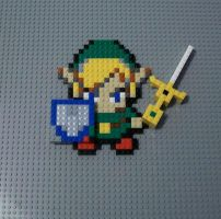 Link with the Four Sword by CraigtheCroc