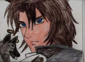 KIBA FROM  WOLF'S RAIN by Bluedragon85