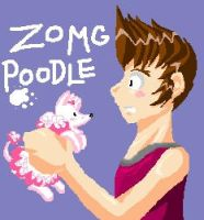 ZOMG poodle by Spambi