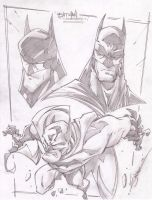 The Batmans by StevenSanchez