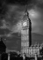 Big Ben 4 Black and White by zaphotonista