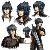 Noctis, Noctis and Noctis by Amarevia