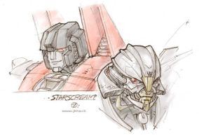 TF doodles - Starscream by juzo-kun