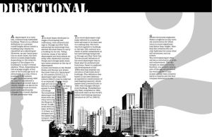 Graphic Design Final Spread by moonelfpersephone