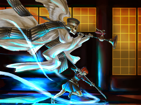 Persona 3 - Heralds by bahamutneo