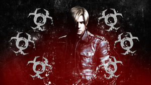 Leon S. Kennedy wall PS Vita by Queen-Stormcloak