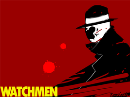 Rorschach Wallpaper by Nixonator