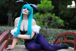 Morrigan Aensland by CosplayGraphy