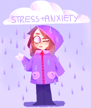 STRESS + ANXIETY by sugarbeetle