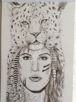 The Girl and The Leopard by SarahJ31