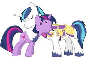Shining Armour and Twilight Sparkle (Resources) by 90Sigma