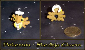 Pokemon - Shedinja Charm by YellerCrakka