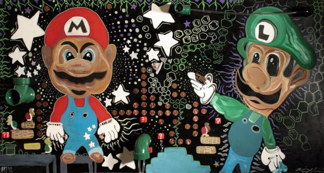 FEAR AND LOATHING IN 3D MARIOWORLD by 11dredg11