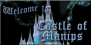 Castle of Manip Banner Welcome Sign by WDWParksGal-Stock