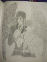 Ciel and Sebastian michaelis by Holyrollyempire