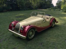 Morgan 4 SportsCar - Red and Cream (glossy) by Livius70