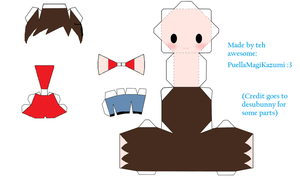Another ver. of JoshJepson Papercraft by PuellaMagiKazumi