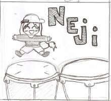 Neji plays the congas by Mega-multi1