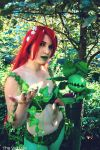 Poison Ivy and her Pet by CuteyKitty