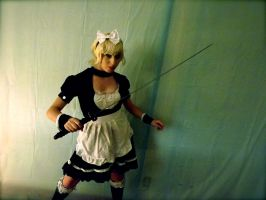 Saber Alter Maid Ready For Battle by jimykudo11