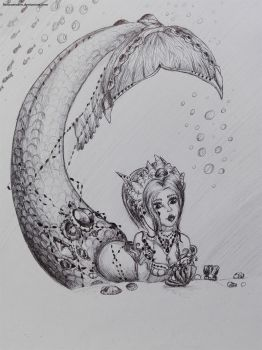 Mermaid series: 5 by LiseWasTaken